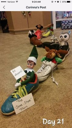 Most recent Photo Elf On The Shelf ideas Thoughts In case you have small childre. - Elf on the Shelf Christmas Elf, All Things Christmas, Christmas Crafts, Christmas Decorations, Christmas Fashion, Christmas Activities, Christmas Traditions, Awesome Elf On The Shelf Ideas, Elf Ideas Easy