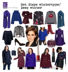 """ By Margriet Roorda-Faber, Style Consulting. Deep Winter Palette, Cool Winter Color Palette, Deep Winter Colors, Winter Typ, Dark Winter, Winter Looks, Capsule Outfits, Capsule Wardrobe, Cold Weather Outfits"