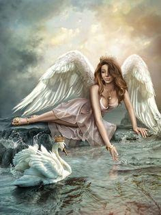 swan princess illustrations - Google Search