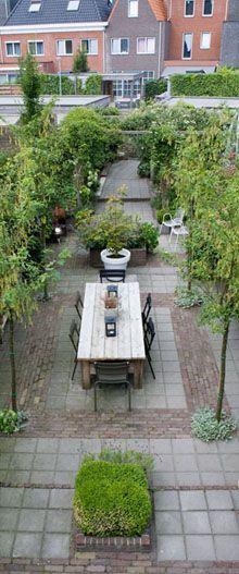 nieuwe grachtentuin « Studio TOOP Tuinarchitectuur