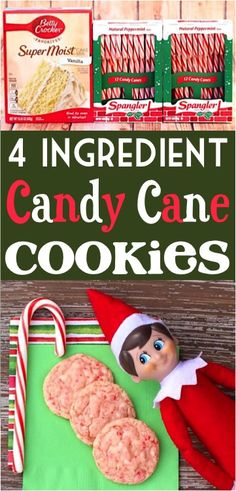 These irresistible Candy Cane Cake Mix Cookies made with real candy canes are even Elf approved! Get Recipe -------->> Candy Cane Cake Mix Cookies Easy Holiday Cookies, Easy Christmas Cookie Recipes, Thanksgiving Desserts Easy, Christmas Sweets, Christmas Cookies Kids, Holiday Meals, Christmas Cupcakes, Easy Homemade Cookie Recipes, Homemade Christmas Treats