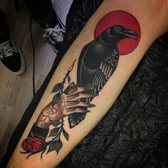 Cedric Weber illustration hand tattoo tattoos ink inked