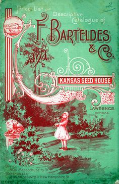 Price List and Descriptive Catalogue - F. Barteldes & Co. - Kansas Seed House, Lawrence, KS - c. 1890s-1910s
