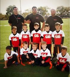 We are proud sponsors of our hometown teams. The Kearny youth flag football team was a force to be reckoned with last season!