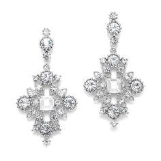 Mariell Silver Starlight Crystal Earrings off retail Prom Earrings, Wedding Earrings Drop, Bridal Earrings, Crystal Earrings, Wedding Jewelry, Hair Jewelry, Women Jewelry, Jewlery, Jewelry Box