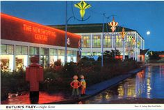 Butlins Holidays, Seaside, Camps, England, Scene, Mansions, House Styles, Resorts, Yorkshire