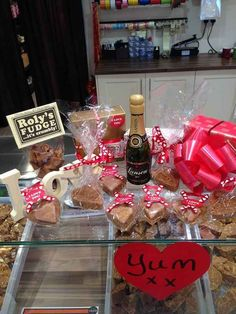 Snack on some fudge at Roly's Fudge Pantry.