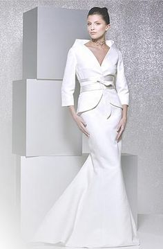 wedding dresses and wedding suits