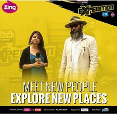 So this is something that has been keeping me busy lately. Part of the first ever digital-television reality show- #Expedition on @zingtv, started yesterday on audition episode.