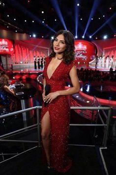 Alejandra Espinoza in Gustavo Arango Nuestra Belleza Latina