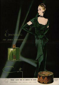 Coty Emeraude (Vintage Perfume)   The Non-Blonde