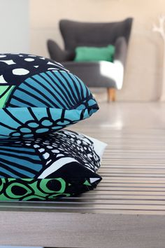 marimekko cushion from funkis