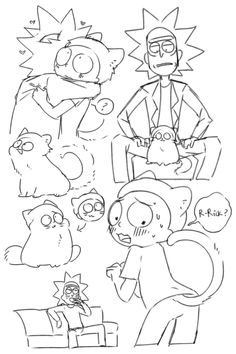 Rick And Morty Comic, Rick And Morty Characters, Wubba Lubba, Rule 34, Character Art, Kawaii, Animation, Comics, Cartoons