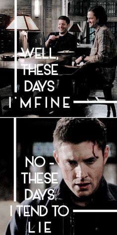 I'm sorry, brother… I'm sorry, I let you down #spn