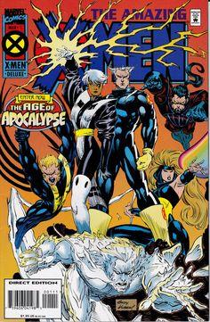 Sorprendente X-Men (1995) #1, edición de marzo de 1995 - Marvel Comics - andy kubert