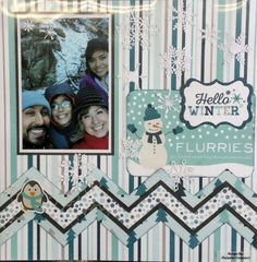 Hello Winter / Echo Park, by Margaret Carpenter for Scrappin' in the City
