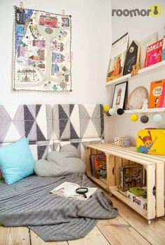 Reading Corners 30+ creative and cozy reading nooks for kids | kids reading