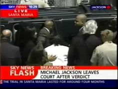 Michael Jackson -  June 13, 2005 Live Court Verdict  To remind people that a court tried and found MJ NOT GUILTY ON ALL COUNTS!  People forget this!  Justice 4 MJ!