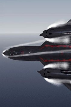 SR-71 Blackbird in high speed flying -tn_Posted On Shock Mansion (20)
