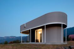 """Inspired by the words of the famous architect Marion Mahony Griffin: _""""A tiny house, like a tiny temple, can be a perfect work of art""""_, this tiny project is for a new reading room pavilion and interconnecting awning alongside two existing rural pavili..."""