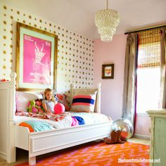 eclectic kids room