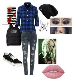 """""""Untitled #34"""" by aubrey-corbett on Polyvore featuring WithChic, Vans, Bling Jewelry and Lime Crime"""