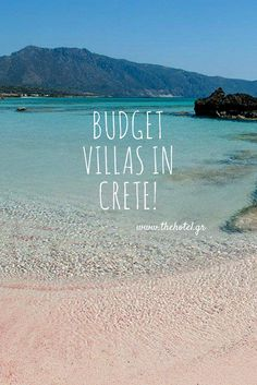 Value for money villas in beautiful Crete!