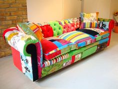 I dream of patchwork sofa..love it..