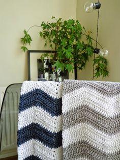 Crochet chevron
