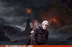 Hodor goes to Mordor!
