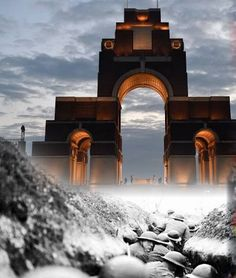 Thiepval Somme France commemorates WWI 1916-2016 World War I, World History, Somme France, 2018 Year, Amiens, Reims, Rouen, Wwi, Mansions