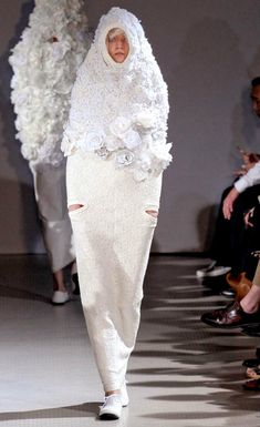 "I will NEVER be into fashion.  My first thought was ""Walking fluffy tampon??"""