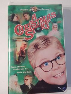 A Christmas Story VHS Tape Family Classic Holiday Movie Video Clamshell Ralphie