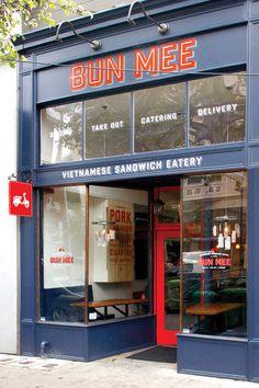 Bun Mee Identity/Branding. A gourmet Vietnamese-inspired sandwich shop