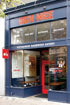 Bun Mee: A gourmet Vietnamese-inspired sandwich shop, play on words Bahn Mi