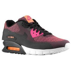 online store 96b13 54ba1 Nike Air Max 90 Jacquard (JCRD) Hombre Brillante Magenta   Antracita   Negro    Naranja Totales,That has a hot sale and fashion style.