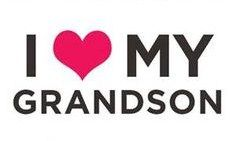 I ♥ MY GRANDSON Grandson Quotes, Quotes About Grandchildren, Grandkids Quotes, Family Quotes, Me Quotes, Qoutes, Sharing Quotes, Grandma And Grandpa, Thing 1