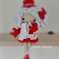 Muñeca basada en la diseñadora Carmen Rentería. 😊😊😊#handmade_hobby_ #proday_handmade #amigurumis #muñecadeganchillo #muñecacrochet  #subastaporellas