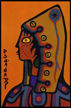 Norval Morrisseau, First Son of the Ojibway Loon Totemic Clan, (p. Native Canadian, Canadian Artists, South American Art, Native American Art, Inuit Art, Indian Artist, Indigenous Art, Native Art, First Nations