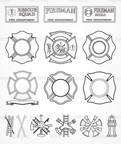 Fire Department Maltese Cross Coloring Page Elegant 39 Best Images About Fdny and Ironworkers Local 40 On Firefighter Crafts, Firefighter Shirts, Volunteer Firefighter, Cross Coloring Page, Coloring Pages, Fire Dept, Fire Department, Shilouette Cameo, Fire Hose