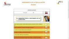 PIZARRA DIGITAL Y TIC: Herramienta de autoevaluación de la competenciadigital