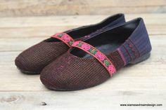 Ballet Flat Style Girls Shoes, Siamese Dream Design /// TAFA Market, Brown Collection: http://www.tafaforum.com/market/tafa-market-colors/