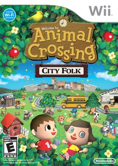 Animal Crossing: City Folk (Nintendo Selects) - - If life were an endless vacation, what would you do? Go fishing, collect shells, or watch fireworks with friends? Build a snowman, exchange animals Animal Crossing Wii, Xbox One, Playstation, Wii Accessories, Video Game Collection, City Folk, Wii Games, Music Games, Build A Snowman