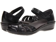 Aravon Clarissa Black Leather - Zappos.com Free Shipping BOTH Ways