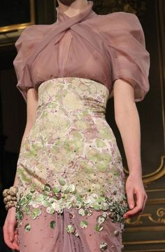 Jan Taminiau S/S 2013 Couture Runway Details