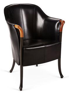 Progetti Blossom Armchair, Black   Italian Craftsmanship   One Kings Lane