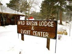 Wild Basin Lodge and Event Center, Allenspark, Colorado,  is open year round for all events.