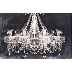 Dramatic Entrance Night Canvas Print, Oliver Gal  at Joss and Main