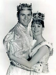 Cinderella ~ Leslie Ann Warren & Stuart Damon (General Hospital's Alan Quartermaine) In The 1965 Rodger's & Hammerstein's TV Classic! I grew up watching this on television annually, in black & white, for many years! I still love it today. Cinderella Musical, Rodgers And Hammerstein's Cinderella, Cinderella Dresses, My Childhood Memories, Sweet Memories, Childhood Toys, Portsmouth, Old Tv Shows, Movies And Tv Shows