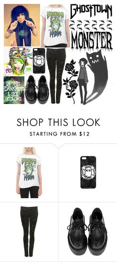 """""""Monster"""" by fallen000 ❤ liked on Polyvore"""